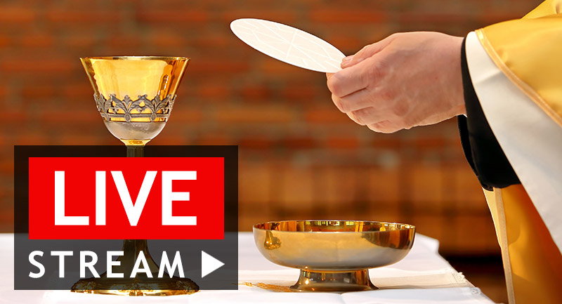 HOLY MASS LIVE STREAM ON FACEBOOK LIVE